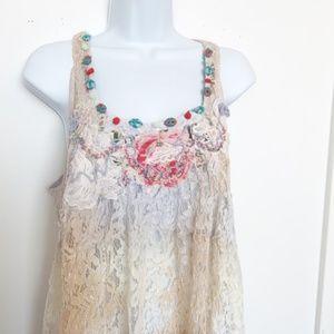 Antica Sartoria Swim - NWT Antica Sartoria Lace Boho Dress/Tunic/Coverup
